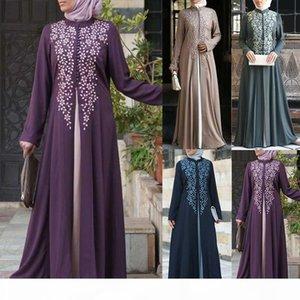 Bangladesh Dubai Abaya per le donne abito musulmano pakistan Turco caftano marocchino hijab abito da sera falso 2 pezzi vestiti islamici