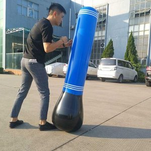 Inflatable Punching Bag Tumbler Training Fitness Kick Fight For Kids Adult KH8891