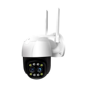 Camcorders 3MP 1080P Dual Lens 10X Digital Zoom Wireless PTZ IP Dome Camera Intercom AI Face Auto Tracking Home Security CCTV Monitor