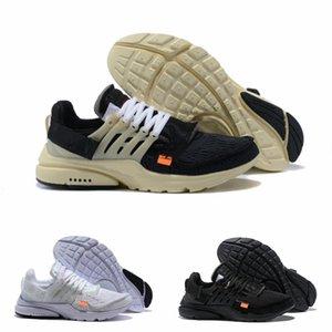 Wholesale High Quality 2021 New V2 Presto BR TP QS Cream Black White X Sports Shoes Cheap Designer Airs Cushion Prestos Outdoor Women Men Brand Trainer Sneakers F86