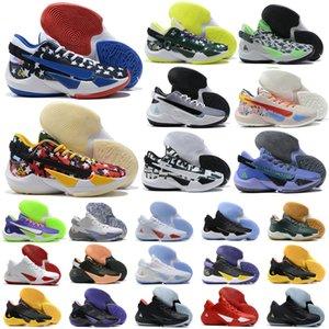여성 청소년 소년 Giannis Greek Freak 2 GA II Basketball Shoes Antetokounmpo 2S GA2 American Sports가 자신의 행운을 빌어 요 스니커즈 크기 US 5.5-8