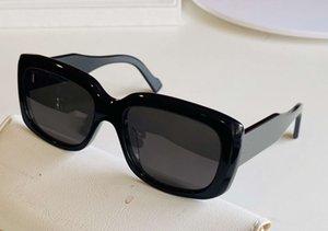 0072 Черные серые солнцезащитные очки прямоугольная рамка унисекс мода солнцезащитные очки sonnenbrille рамки uv400 protecton с коробкой
