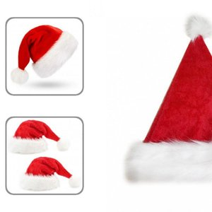 Party Hats Eco-friendly Stylish Unisex Christmas Santa Hat Breathable Decorative For Girl