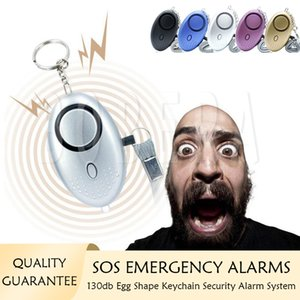Self Defense Alarms 130db Loud Keychain Alarm System Girl Women Protect Alert Personal Safety Emergency Security Systems