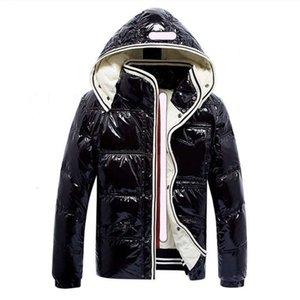 Пальто модной куртки Высокое Качество Даун Parkas Blue Black Women Winter Повседневная Наружная Теплая