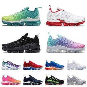 nike air vapormax tn plus TN Artı Erkekler Koşu Ayakkabıları Üniversitesi Kırmızı Pastel Üçlü Siyah Kadın Boyutu 13 ABD Metalik Altın Dary Mavi Açık Eğitmenler Sneakers 36-47