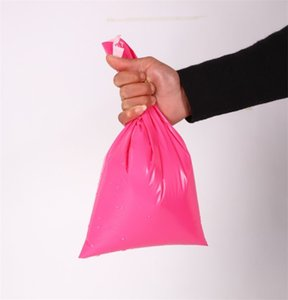 100pcs lot Pink Poly Mailer 17*30cm Express Bag Mail Bags Envelope  Self Adhesive Seal Plastic bags pouch 565 S2