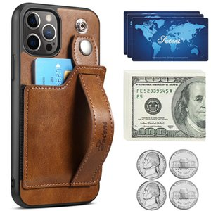Leather package stander Designers phone Cases for iPhone 12pro 11pro X Xs Max Xr 8 7 6 6s Plus samsung S21 S20 s10 NOTE 10 20 good tuch feeling case Anti-fingerprint