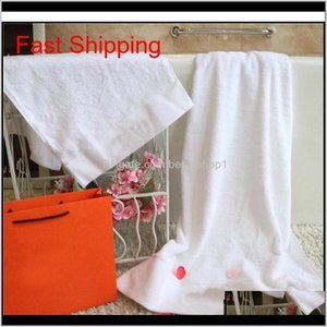White 2Pcs Fashion Pattern Bath Towel Set Soft Skin Friendly Cotton Face Towels Bathroom Must Towe Qyllqm 4Zqjm Xagtn
