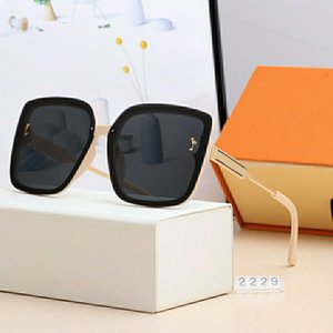 Top luxury Sunglasses polaroid lens designer womens Mens Goggle senior Eyewear For Women eyeglasses frame Vintage Metal Sun Glasses With Box