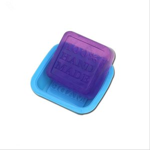 100% Handmade Soap Molds DIY Square Silicone Moulds Baking Mold Craft Art Making Tool DIY Cake Mold LLE6598