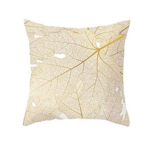 Undefined Gold Plant Printed Polyester Car Seat Pillow Case Cover Sofa Cushion Home Decor Wrap Various Styles Mats & Pads