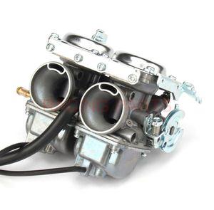 26 мм двойной двойной цилиндр CARBURETOR для KEIHI CBT125 CBT250 CA250 CB250 CL125-3 Мотоцикл мотоцикла CL125-3 ATVS Quad Go Kart Топливная система
