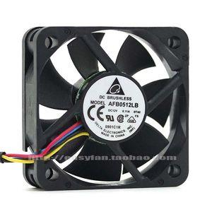 Fans & Coolings Original TEDA 5015 12V 0.11A Afb0512lb 50 * 15mm Chassis Fan