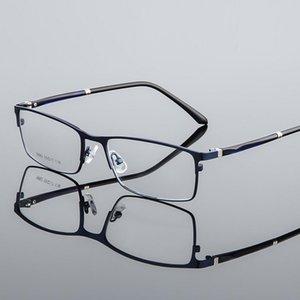 Moda Güneş Gözlüğü Çerçeveleri Optik Gözlük Çerçevesi Kadın Erkek Business Miyopli Reçetesiz Değil Değiştirilebilir Lensler Tam Alaşımlı Kare