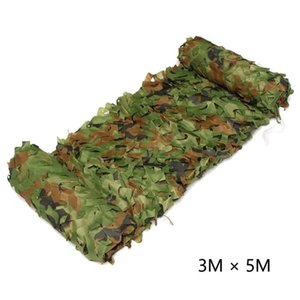 Double-sided Camouflage Net Camping Woodlands Blinds Military Camo Netting Car Organizer