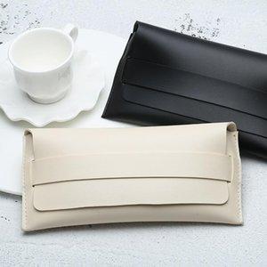 Fashion PU Leather Cover Sunglasses Case For Women Men Glasses Portable Storage Bag Soft Pouch Accessories Bags