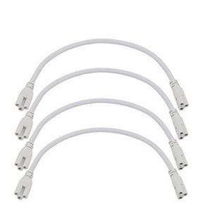Ampoules 3pin 1fin 3ft 3ft 5ft Câble pour tubes LED T8 T5 Integrated Connecteur Connecteur Cordon CE RoHS Power