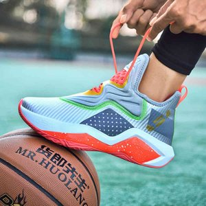 14 Новый Джеймс Баскетбол Мужской Солдат Высокий Топ Студент Пара Спортивная Обувь Большой 9J3Y