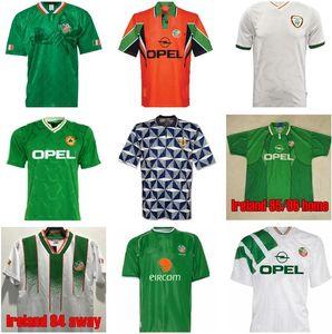 1990 1992 1994 1996 Таиланд Ирландия Ретро Футбол Футбол Джерси Винтаж Футбольная рубашка Республика Национальная команда 39 Мир Кубок Кубок Зеленый Белый