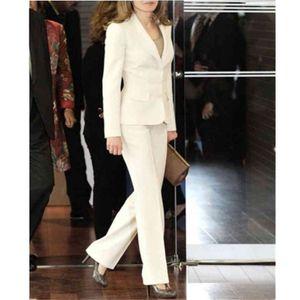 Женские костюмы Blazers Элегантные 2-х частей офисные униформы женский деловой костюм женщин смокинг в свадьбы пиджаки формальная куртка