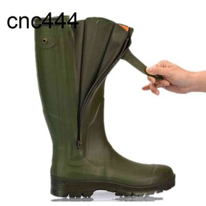 High Content Military Hunting Boot Mens Rubber Safety Working Gumboot Men Rain Boots For Industrial