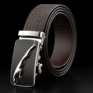 Moda in vera cintura in vera pelle di alta qualità cinghiale piena vacchetta da uomo