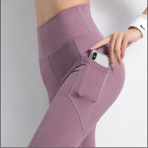 Women's Leggings Ogilvy Mather High Waist Sport Women Fitness With Pocket Pants Gym Clothing Legging For