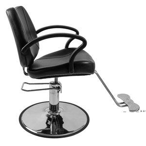 Woman Barber Chair Haircut, Salon Furniture Hair Cutting Styling Shampoo Waxing with Hydraulic Pump by sea FWE9558