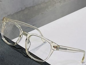 Optical Eyeglasses For Men and Women Retro Style B 2335 Anti-blue light lens Square plate Full Frame with