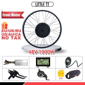 Free Shiopping EBike Conversion Kit 48V 1000W Front Hub Motor Wheel 20 24 26 27.5 28 29inch700C Electric Bicycle with KT LCD3 display