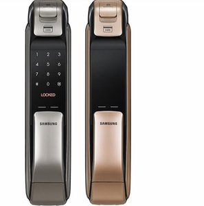 SAMSUNG SHP-DP728 Keyless Lock BlueTooth Fingerprint PUSH PULL Two Way Digital Door English Version Big Mortise