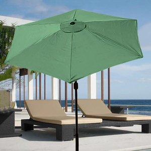Shade Patio Umbrella 1PC Anti-Corrosion Keep Cool Parasol Replacement Durable Dustproof Outdoor Awnings Canopy Cover