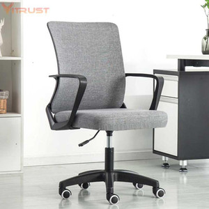Living Room Furniture Office Chair Computer Desk Gaming Ergonomic Mid Back Cushion Lumbar Support With Wheels Comfortable Racing Seat