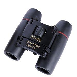 30x60 Binocular Telescope Mini Hd Children's Portable Low Light Level Night Vision Cherry Blossom DF4N719
