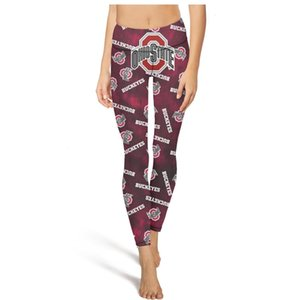 men's and womens ClothingVintage Yoga Buckeyes Fashion pants Women 90 degrees Casual Skinny Suitable for Running Leggings Ohio State bXHXP7L