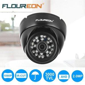 Cámaras Floureon 1080p 2.0MP 3000TVL PAL VANDAL APROXIBLE CCTV DVR Seguridad impermeable AHD Cámaras de cúpula Visión nocturna