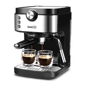 Espresso Machine 20 бар кофемашина 1300W Высокая производительность без утечек 900 мл Съемная вода