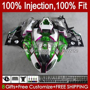 Injection Mold Bodys For BMW S 1000RR 1000 RR S1000RR 09 10 11 12 13 14 19No.40 S-1000RR S1000 RR 2009 2010 2011 2012 2013 2014 S1000-RR 09-14 OEM Fairing Kit Pearl green