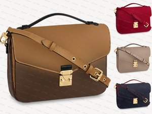 Top quality Women handbags purses POCHETTE shoulder clutch bags MON0GRAM Luxury designer genuine leather Metis crossbody bag code CRAFTY NEONOE Handbag tote