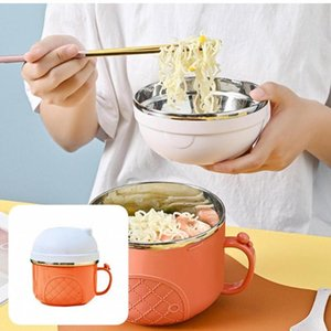 Bowls Practical Great Meal Prep Lunch Container Bowl Stainless Steel Eco-friendly For Travel