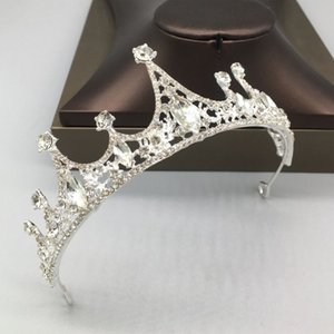 Super Flash Crystal Bridal Headwear Crown Rhinestone with Wedding Jewelry Hair Accessories Diamond Bridal Crowns Headpieces