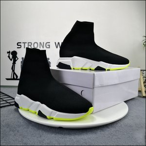 رجل امرأة عارضة الأحذية جورب 1 2.0 المشي الأحذية سرعة المدرب الأصلي باريس سيدة أسود أبيض أحمر الرباط الجوارب الرياضية رياضية أعلى جودة الأحذية واضحة وحيد حجم 36-47 US10