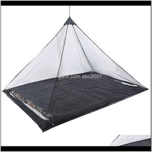 Tents And Shelters Ultralight Summer Anti Mosquito Tent 12 Person Insect Outdoor Camping Repellent Net Beach Mesh Ten 00Pqn Lnpcm
