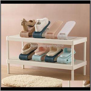 Holders Home Use Racks Modern Cleaning Storage Living Room Plastic Shoes Rack Double Layer Integrated Shoe Holder Jzfe3 Kelnu