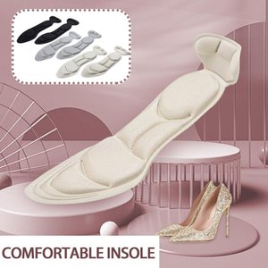 Carpets 5D Soft Sponge Pointed High Heels Insole For Flat Massage Arch Support Shoes Pads Heel Protector Insert Soles