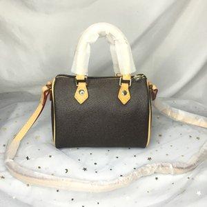 حقيبة كيس جودة مصممي الفموي النساء محفظة الأزياء crossbody 16 cm نانو مردف مصغرة الكتف الكلاسيكية قماش وسادة