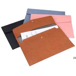 الصلبة لون ملف جيب دائم دفاتر مجلدات المستند حقيبة المحمولة الايداع أكياس تخزين الأرشيفية مكتب مقالات مكتب المدرسة HWB7449