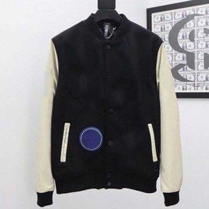الرجال الكلاسيكية ربيع الخريف bomber سترات البيسبول موحدة قميص رجل الأزياء كلية نمط الذكور الهيب هوب كل مباراة جاكيتات معطف