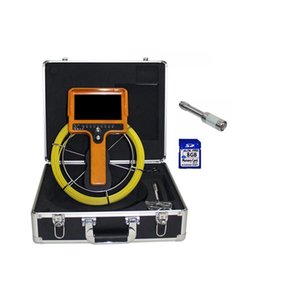 512hz Transmitter Pipe Sonde Locator 20m Cable Drain Sewer Pipeline Inspection Camera Wall Well Snake Video Endoscope Industrial IP Cameras